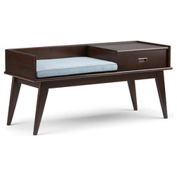 Midcentury Accent And Storage Benches by Homesquare