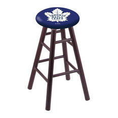 Toronto Maple Leafs Extra Tall Bar Stool Dark Cherry