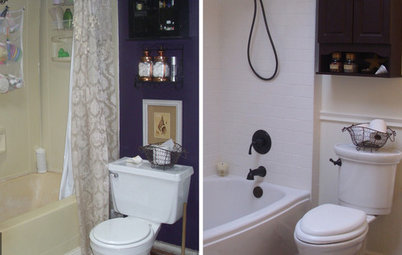 Simple Reader Bathroom Updated Romantic Style for in Minnesota