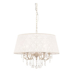 Filomena Drum Chandelier, 5 Light
