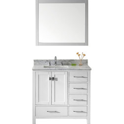 Elegant Transitional Bathroom Vanities And Sink Consoles by Virtu Usa Inc