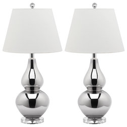 Contemporary Lamp Sets by Safavieh