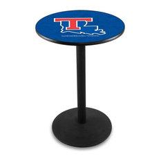 Louisiana Tech Pub Table 36-inchx36-inch by Holland Bar Stool Company