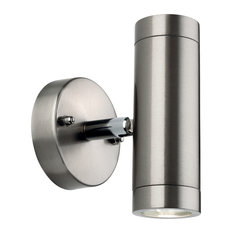Sprint LED Stainless Steel Wall Light, 2 Lights