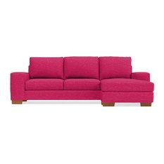 Exceptionnel Apt2B   Melrose Reversible Chaise Sleeper Sofa, Innerspring Mattress, Pink  Lemonade   Sleeper Sofas