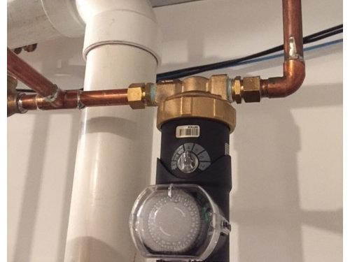 hot water recirculation pump sound?