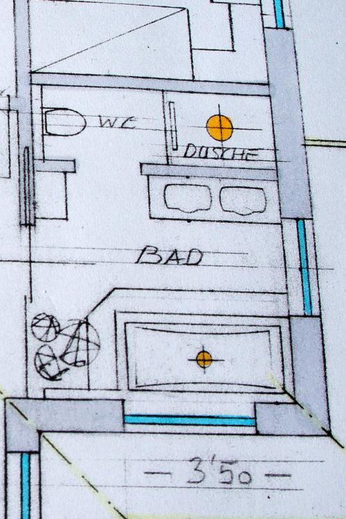 Badezimmer im Neubau - Fragen zur Aufteilung