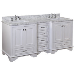 Ideal Traditional Bathroom Vanities And Sink Consoles Nantucket Bath Vanity Carrara and White