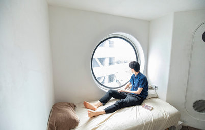 Houzz Tour: Living Inside Tokyo's Tiny Yet Iconic Capsule Tower