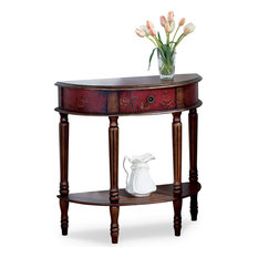 Red Console Tables Houzz