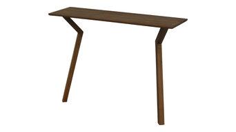 Capti Design Spejs Console Table, Walnut, Medium