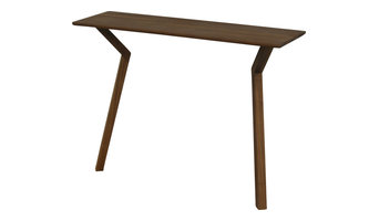 Capti Design Spejs Console Table, Walnut, Medium