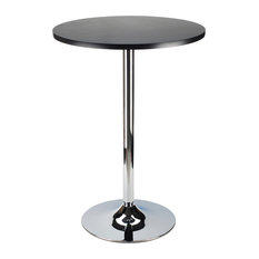 Winsome Wood Modern Composite Wood And Metal Bar Stool Table