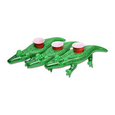 GoFloats Floating Gator Drink Holders, 3-Pack, Float Your Drinks in Style