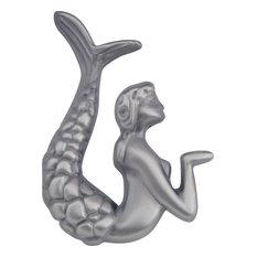 Atlas Homewares Mermaid Knob/LF, Pewter