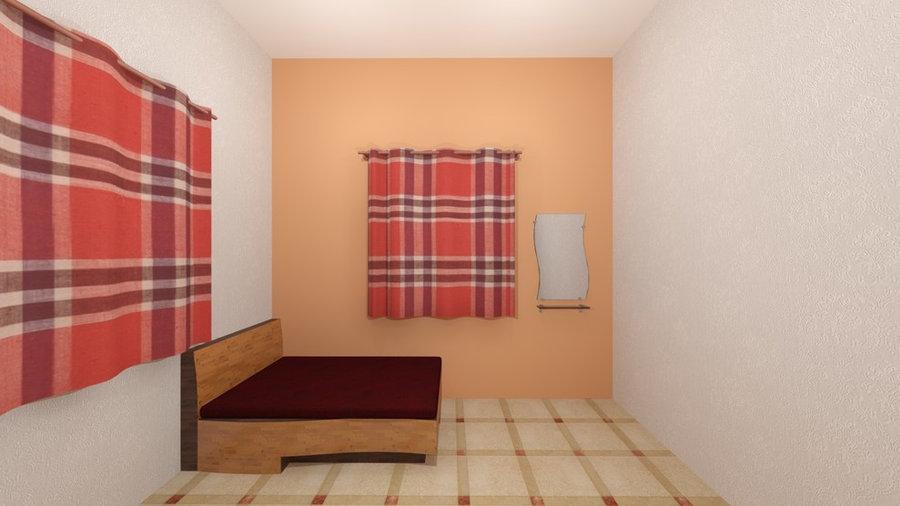 Living room 3D Render VIEW