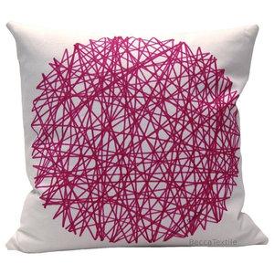 Pink Mandala Cushion, 45x45 cm