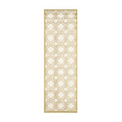 """Safavieh Amherst Collection AMT411 Rug, Ivory/Light Green, 2'3""""x7'"""