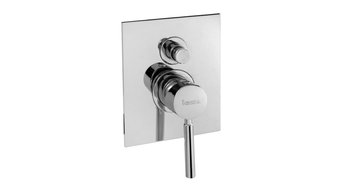 Forma Chrome Recessed Shower Mixer Tap, With Diverter