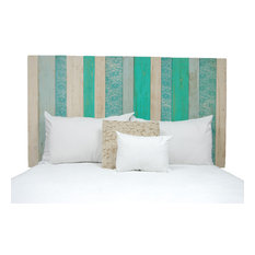 Handcrafted Headboard, Leaner Style, Serenity Mix, Queen