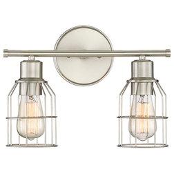 Industrial Bathroom Vanity Lighting by Savoy House