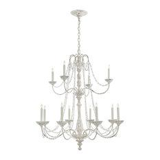 Visual Comfort Lighting E.F. Chapman Flanders 12-Light Chandelier