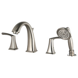Contemporary Tub And Shower Faucet Sets by Allora USA