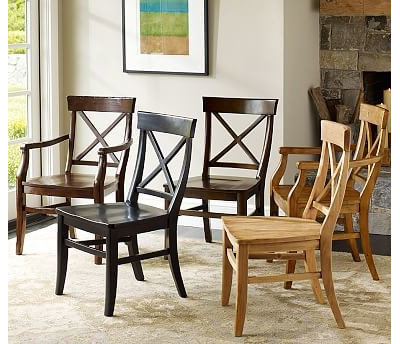 New Dining Chairs by Pottery Barn