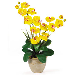 Contemporary Artificial Flower Arrangements by Nearly Natural, Inc.