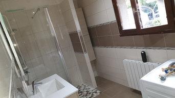 Rénovation totale salle de bain