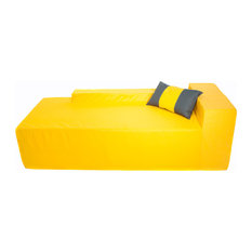 "Chaise 70"", Sunshine Yellow"
