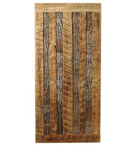 Big Sky Barn Doors - Mountain Side Limited Edition Door, Unfinished, 50x81 - Interior Doors