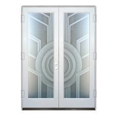 Glass Front Entry Door Sans Soucie Art Glass Sun Odyssey 2D Private