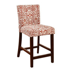 Morocco Counter Stool Lava 17.75W X 22D X 37H Manhattan Stain