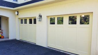 Composite Wood Carriage Doors