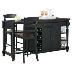 Cool Traditional Kitchen Islands And Kitchen Carts by Home Styles Furniture