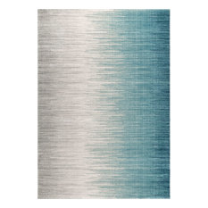 "nuLOOM Lexie Ombre Striped Area Rug, Blue, 6'7""x9'"