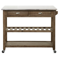 Transitional Kitchen Islands And Kitchen Carts by Boraam Industries, Inc.