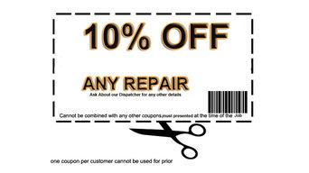 10% OFF ANY REPAIR