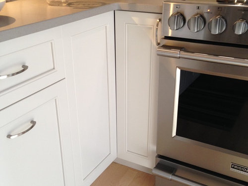 Need HELP : lazy susan won't open because of stove