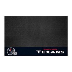 "Fanmats 12186 NFL, Houston Texans Grill Mat, 26""x42"""