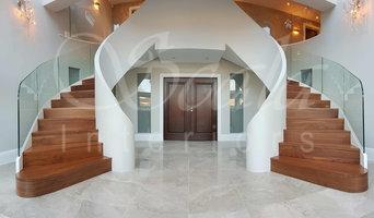 Scala Grand Helical Bespoke Entrance Stair