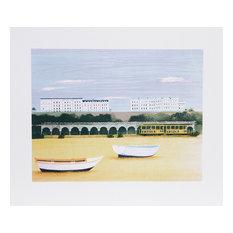 """Beach At Brighton"" Artwork"