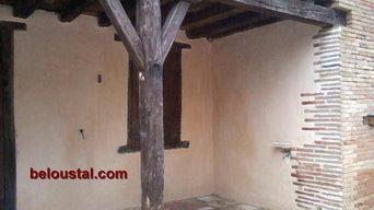 Enduits traditionennels à la chaux -- rénovation du bâti ancien