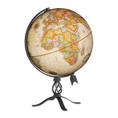 """MacInnes, 12"""" Antique Desk Globe"""
