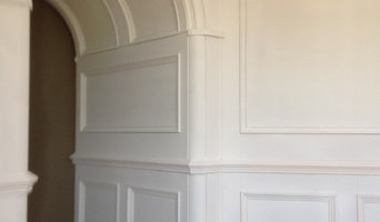 painted panelled room