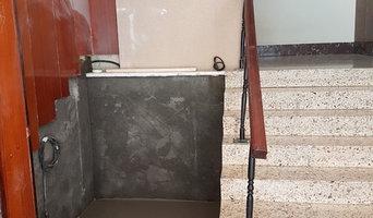 Apertura para montar una plataforma elevadora