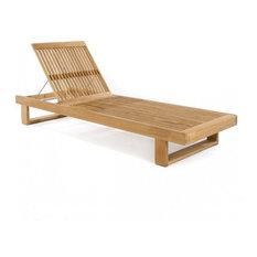 Horizon Chaise Lounger With Cushion, No Cushion
