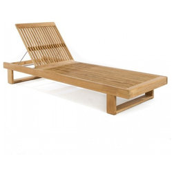 Transitional Outdoor Chaise Lounges by Westminster Teak