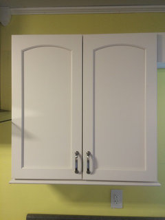 Bar pulls on kitchen cabinets/drawers - what size?